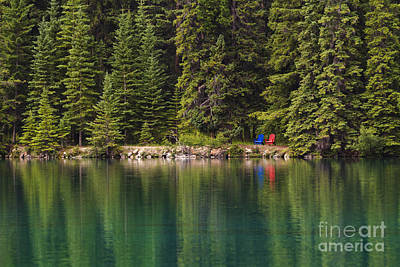 Photograph - Beauvert Lake by Dennis Hedberg