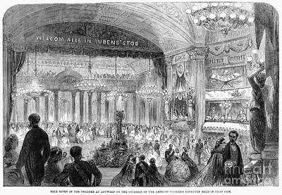 Beaux Arts Ball, 1861 Art Print by Granger
