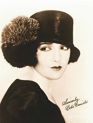 Bebe Daniels 1925 Art Print by Padre Art