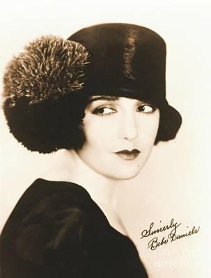 Autographed Art Photograph - Bebe Daniels 1925 by Padre Art