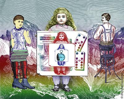 Digital Art - Bebe Marie Presents by Eric Edelman