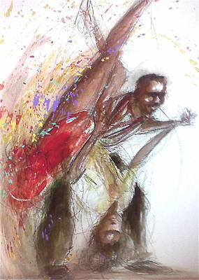 Bebop Dancers Art Print