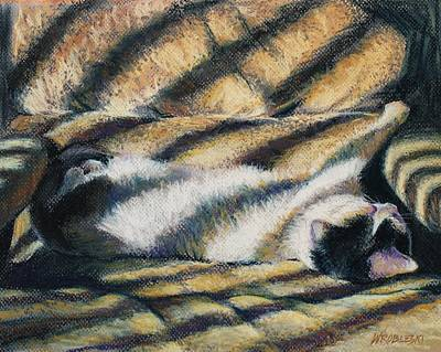Painting - Because I Be A Cat by Peggy Wrobleski