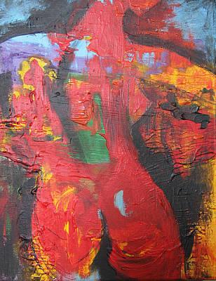 Becoming Art Print by Romina Diaz-Brarda