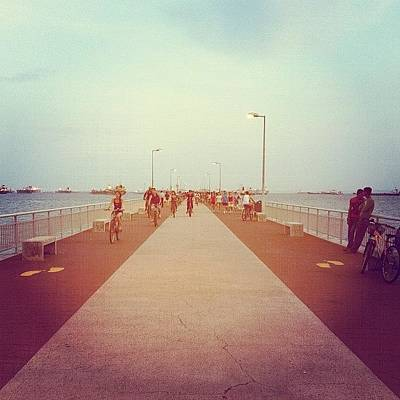 Cycling Photograph - Bedok Jetty by Zachary Voo
