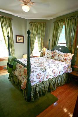 Photograph - Bedroom by David Coblitz