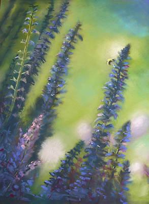Bee Still #2 Art Print by Judy Albright