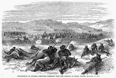 Beecher Island, 1868 Print by Granger