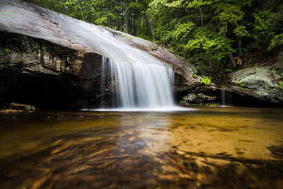 Photograph - Beede Falls by Robert Clifford