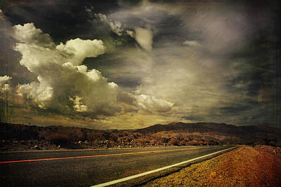 Gravel Road Digital Art - Been Down This Road Before by Laurie Search