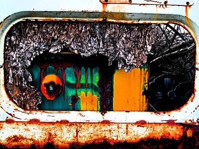 Beenie Bus 11 Art Print by Cyryn Fyrcyd
