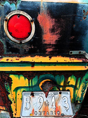 Beenie Bus 9 Art Print by Cyryn Fyrcyd