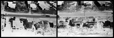 Before And After Hurricane Eloise 1975 Art Print by Science Source