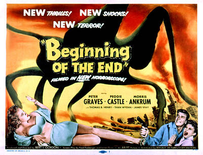 1957 Movies Photograph - Beginning Of The End, The, Peter by Everett