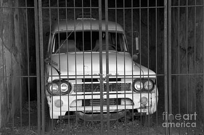 Jerome Arizona Photograph - Behind Bars by Bob Christopher