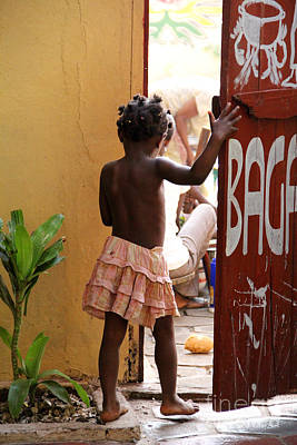 Africa Photograph - Behind The Door by Renee Rushing