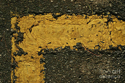 Photograph - Behind The Yellow Line by Stephen Mitchell