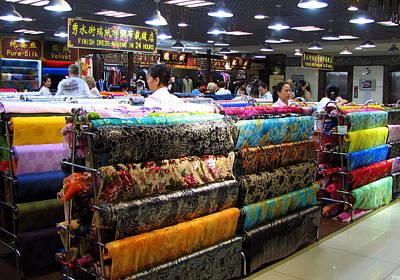 Photograph - Beijing Silk Market by Carla Parris