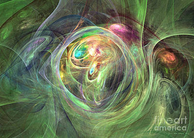 Digital Art - Being Bold - Fractal Art by Sipo Liimatainen