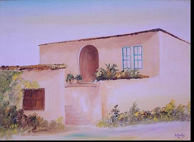 Bekaa House Art Print by Nabil Wehbe