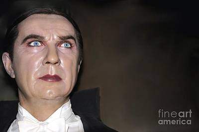 Statue Portrait Photograph - Bela Lugosi As Dracula by Sophie Vigneault