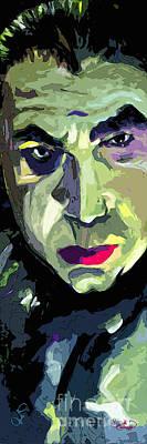 Bela Lugosi Painting - Bela Lugosi Dracula Portrait by Ginette Callaway