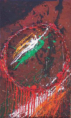 Brian Rock Wall Art - Mixed Media - Belfast Dreamcatcher by Brian Rock