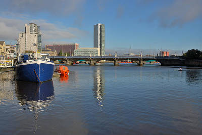 Photograph - Belfast Waterfront by Steven Richman