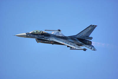 Photograph - Belgian F-16am by Tim Beach