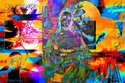 Surrealism Digital Art Rights Managed Images - Believe Royalty-Free Image by Jimi Bush