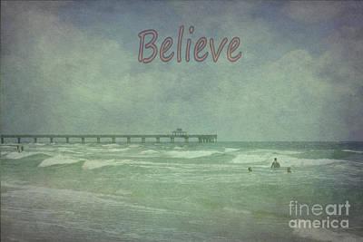 Photograph - Believe by Judy Hall-Folde