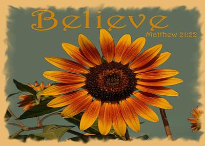 Photograph - Believe by Patricia Urato