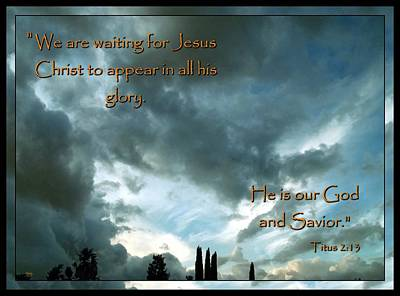 Photograph - Believers Creed by Glenn McCarthy Art and Photography