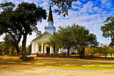 Photograph - Belin United Methodist Church by Bill Barber