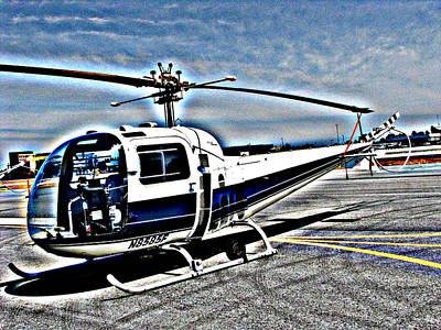 Photograph - Bell 47j Ranger Helicopter  by Samuel Sheats