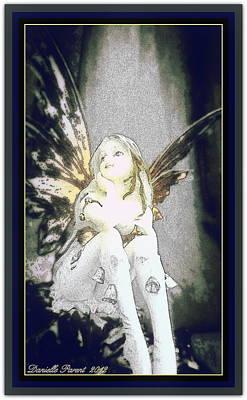 Bell Fairy  Art Print by Danielle  Parent