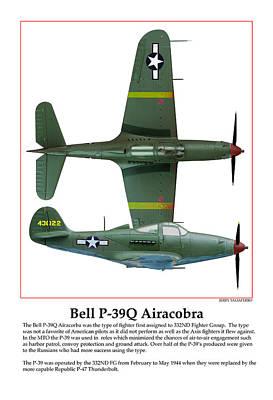 Bell P39q Airacobra Art Print by Jerry Taliaferro