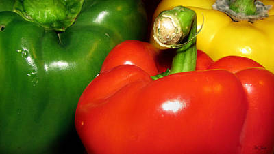 Photograph - Bell Peppers Colors by Ms Judi