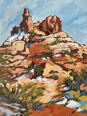 Painting - Bell Rock 2 by Sandy Tracey