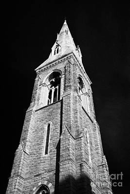Bell Tower Of The Mariners Church Now The National Maritime Museum Dun Laoghaire Dublin Art Print by Joe Fox