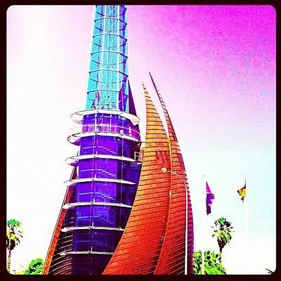 Pop Art Wall Art - Photograph - #bell #tower #perth #city #ig #kinabuhi by Benito Chan