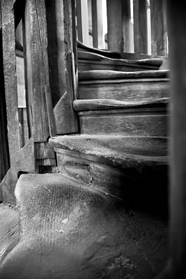 Bell Tower Steps1 Art Print by John  Bartosik