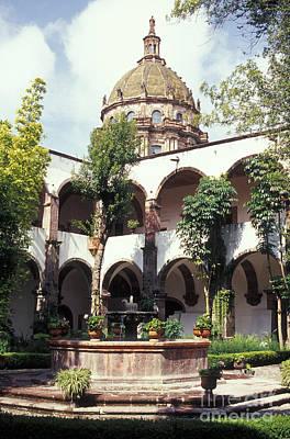Photograph - Bellas Artes Courtyard San Miguel De Allende Mexico by John  Mitchell