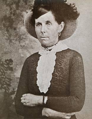 Belle Starr 1848-1889, A Western Outlaw Art Print