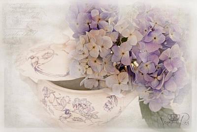 Cs5 Photograph - Belles Fleurs by Sandra Rossouw