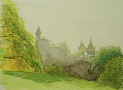 Belveder Castle Central Park Ny Art Print