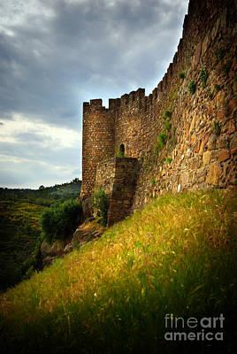 Belver Castle Art Print by Carlos Caetano