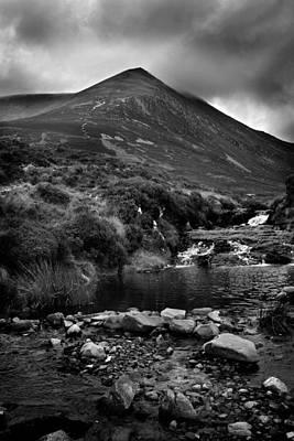 Photograph - Ben Wyvis Bw by Joe Macrae