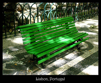 Photograph - Bench 02 by Roberto Alamino