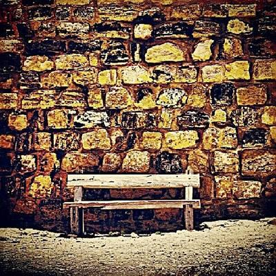 Skylines Wall Art - Photograph - Bench by Ernesto Cinquepalmi